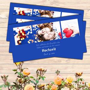 Einladungskarten Querformat