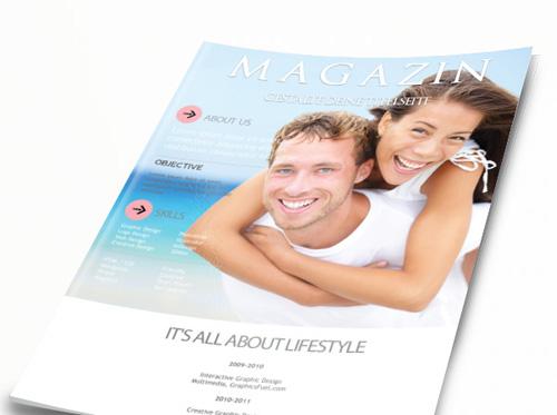 Hochzeitszeitung Gestaltung der Titelseite