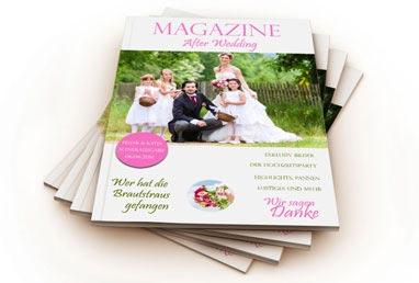 Hochzeitszeitung Kirchenhefte Taufhefte Software