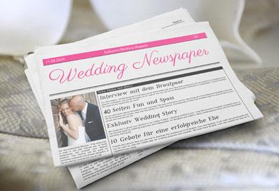Abc Der Ehe Hochzeitszeitung Hochzeitszeitung Erstellen