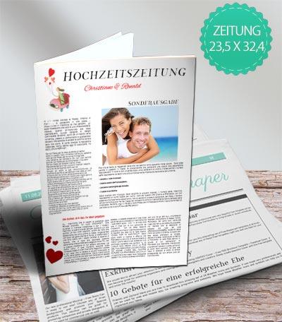 hochzeitszeitung auf zeitungspapier - Hochzeitszeitung Beispiele Pdf