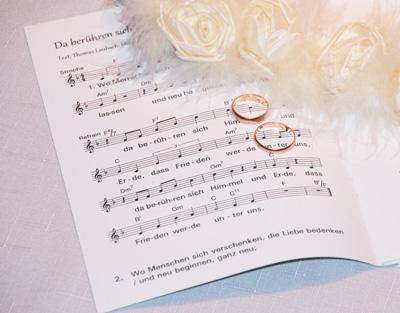 Kirchenheft Inhalte Lieder Zur Trauung